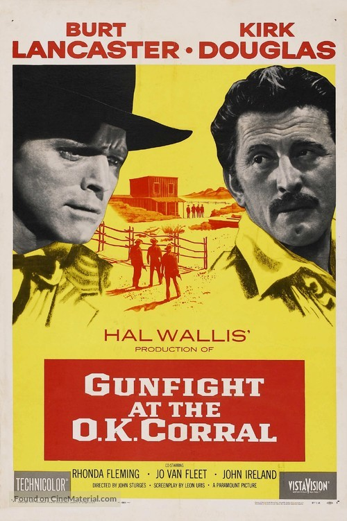 Gunfight at the O.K. Corral - Movie Poster