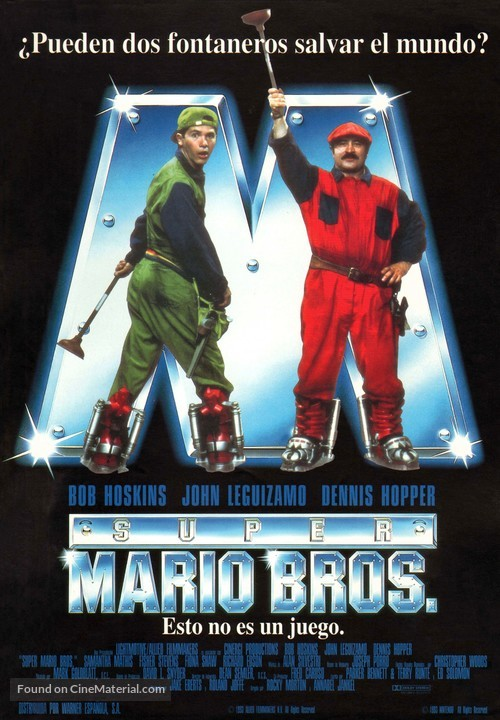 Super mario bros movie poster