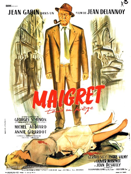 Maigret tend un piège - French Movie Poster
