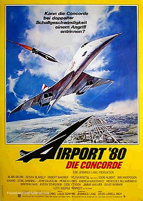 The Concorde: Airport '79 - German Movie Poster