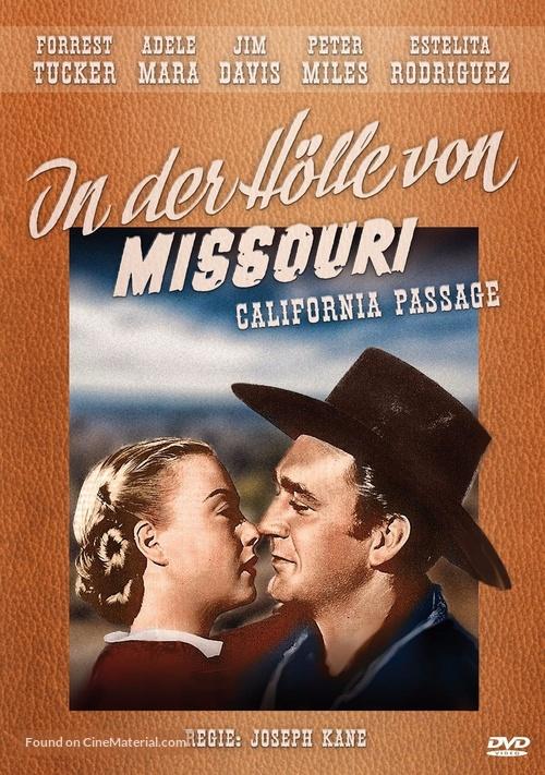 California Passage - German DVD movie cover