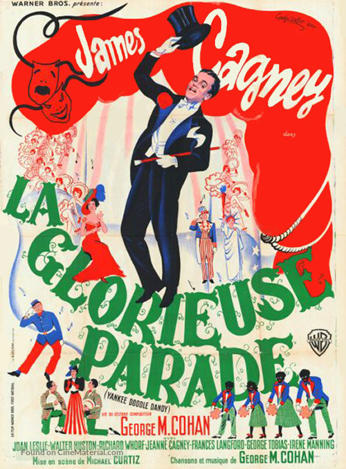 Yankee Doodle Dandy - French Movie Poster