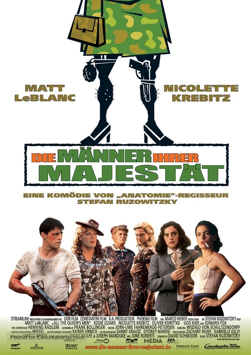 All the Queen's Men - German Movie Poster