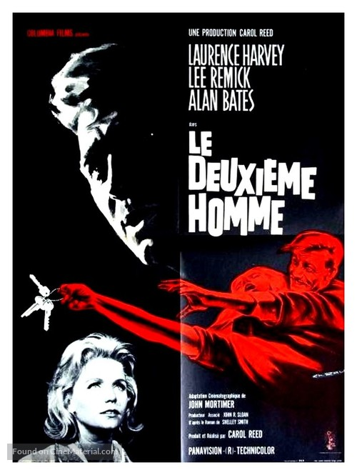 The Running Man - French Movie Poster