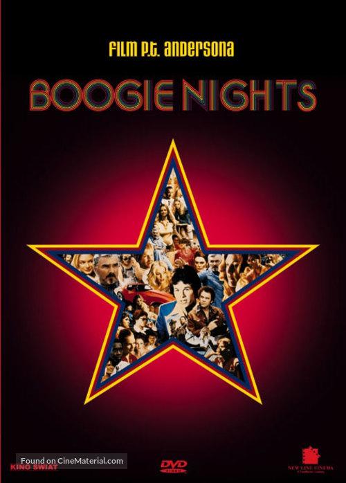 Boogie Nights - Polish DVD movie cover
