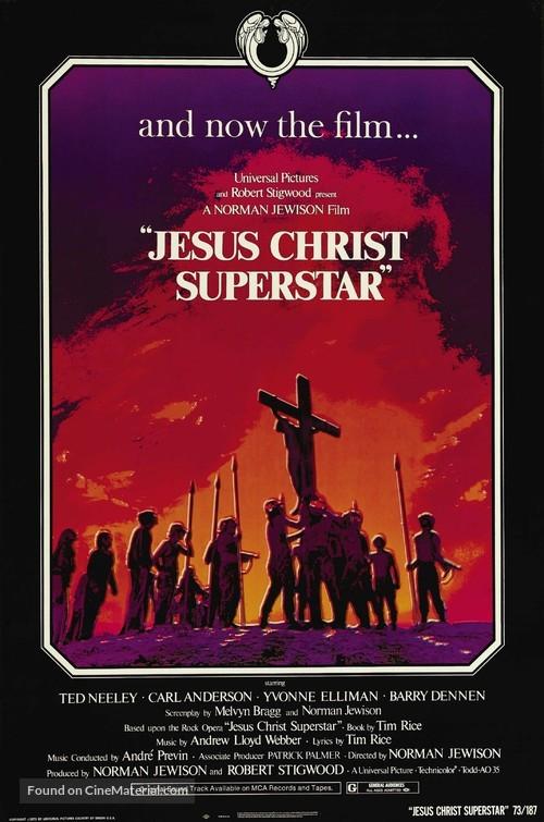 Jesus Christ Superstar - Movie Poster