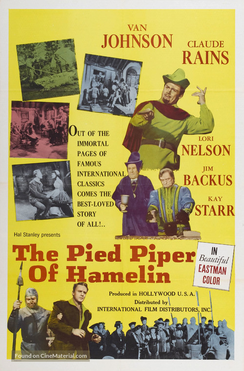 an overview of the story of the piped piper of hamelin