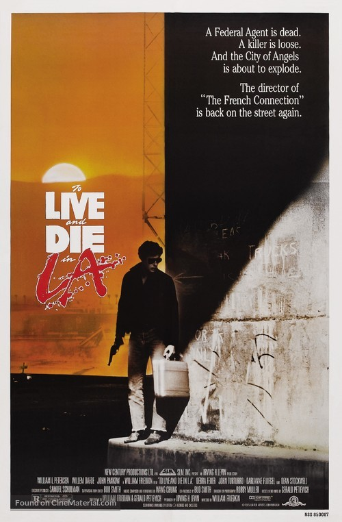 To Live and Die in L.A. - Theatrical movie poster