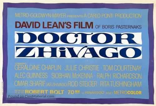 Doctor Zhivago - Movie Poster