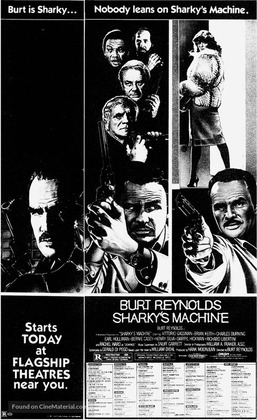 Sharky's Machine - Movie Poster