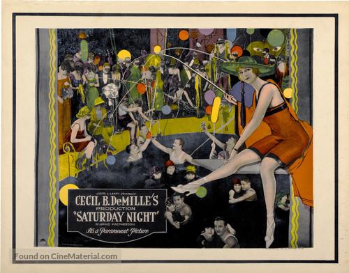 Saturday Night - Movie Poster