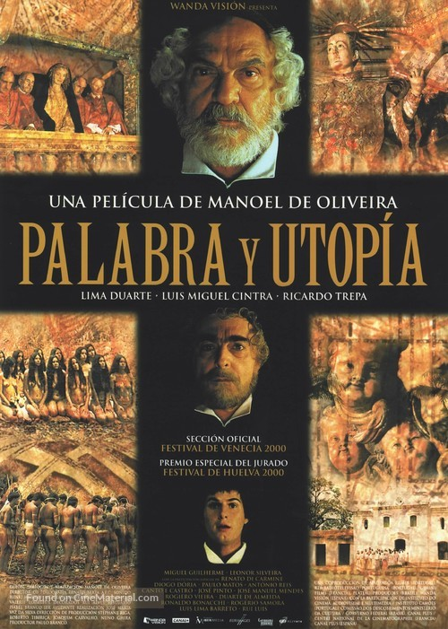 Palavra e Utopia - Spanish Movie Poster