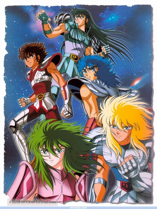 """Saint Seiya"" - Key art"
