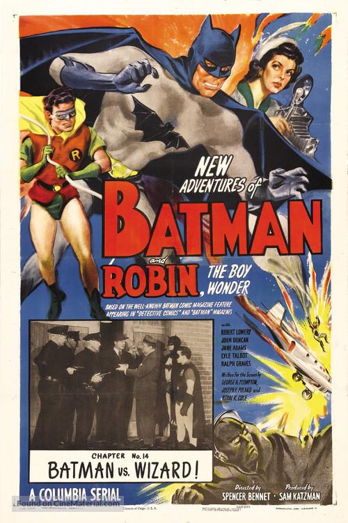 Batman and Robin (1949) movie poster