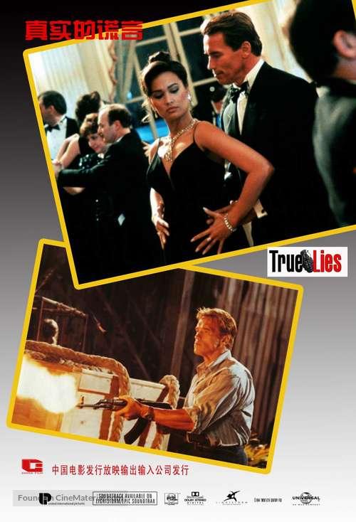 True Lies 1994 Chinese Movie Poster