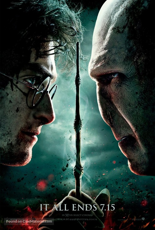 Harry Potter and the Deathly Hallows: Part II - British Movie Poster