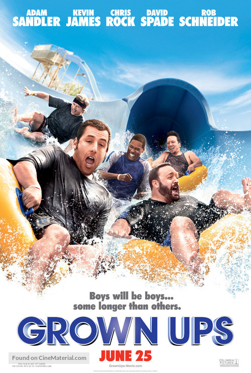 Grown Ups - Movie Poster