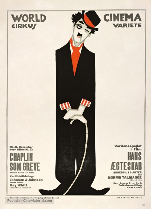 The Count - Danish Movie Poster