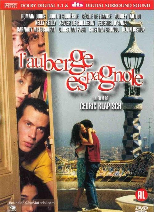 L'auberge espagnole - Dutch DVD movie cover