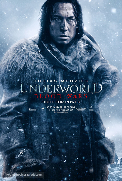 Underworld Blood Wars - Movie Poster