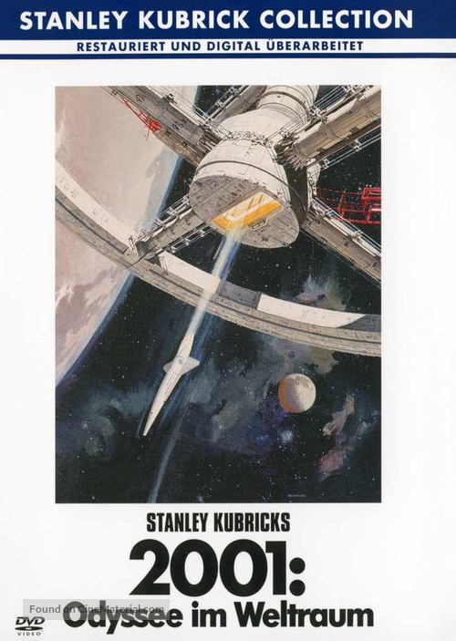 2001: A Space Odyssey - German DVD movie cover