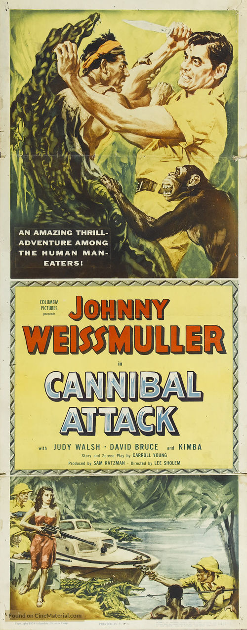 Cannibal Attack - Movie Poster