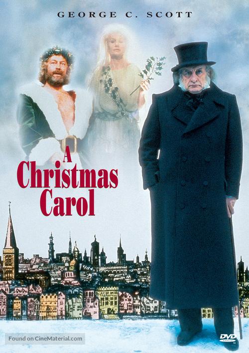 A Christmas Carol - DVD movie cover