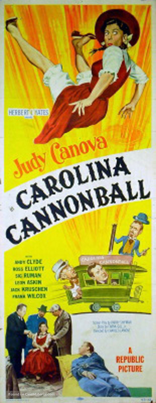 Carolina Cannonball - Movie Poster