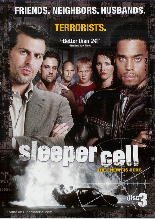 """""""Sleeper Cell"""" - poster"""
