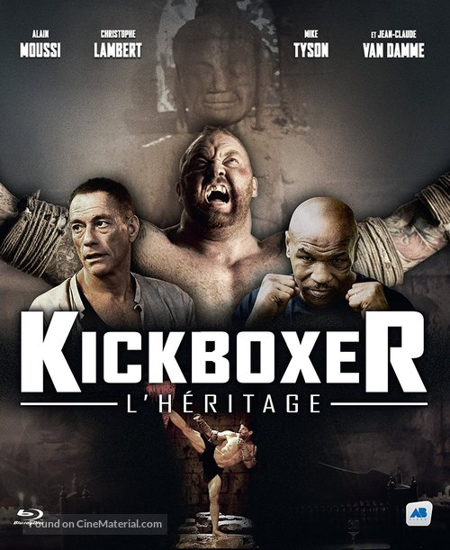 kickboxer retaliation french blu ray cover. Black Bedroom Furniture Sets. Home Design Ideas