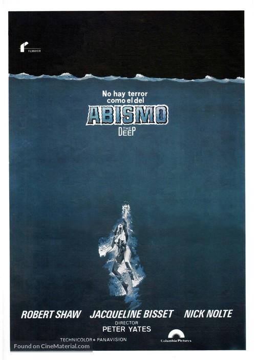 The Deep - Spanish Movie Poster