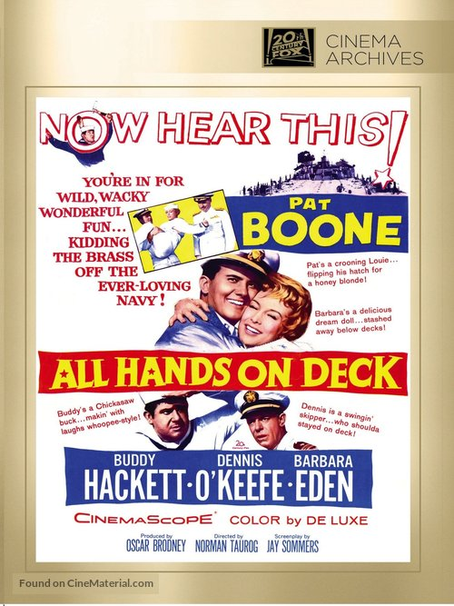 All Hands on Deck - DVD movie cover
