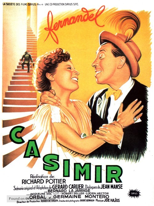 Casimir - French Movie Poster