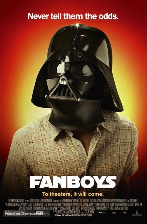 Fanboys - Character movie poster