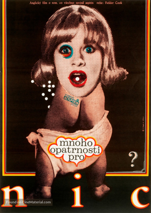 Prudence and the Pill - Czech Movie Poster
