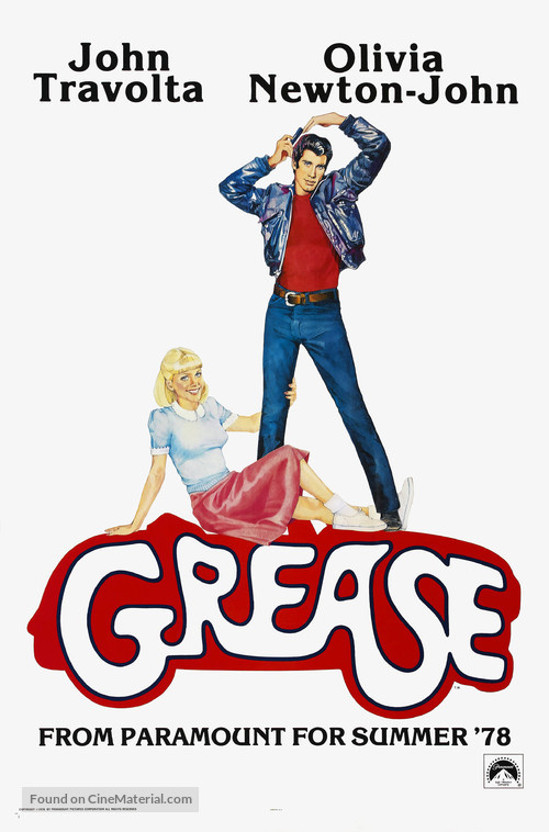 Grease - Teaser movie poster