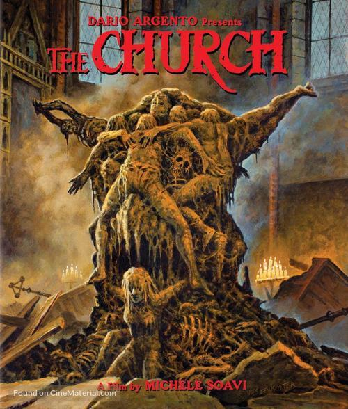 La chiesa - Blu-Ray movie cover