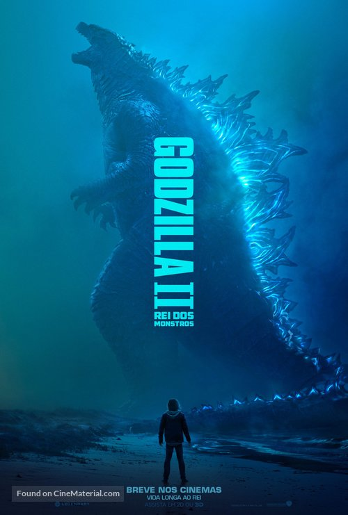 Godzilla: King of the Monsters - Brazilian Movie Poster
