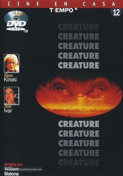 Creature - Spanish DVD cover