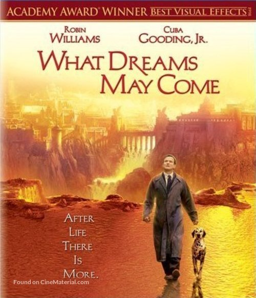 What Dreams May Come - Blu-Ray movie cover