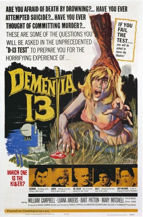 Dementia 13 - Movie Poster