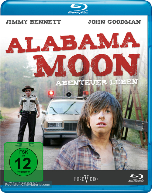 Alabama Moon - German Blu-Ray movie cover