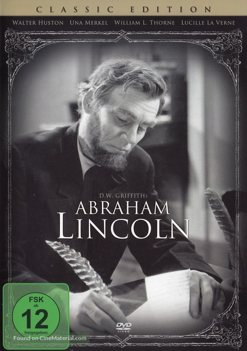 Abraham Lincoln - German DVD movie cover