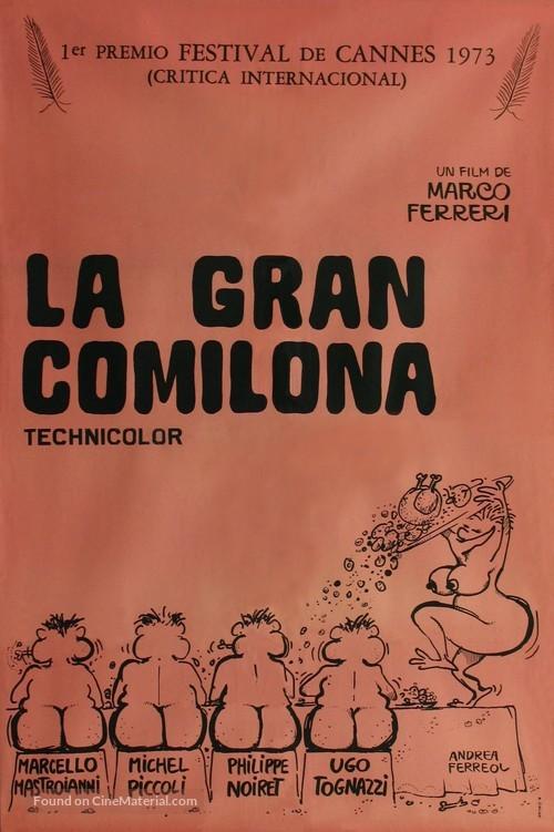 La grande bouffe - Argentinian Movie Cover
