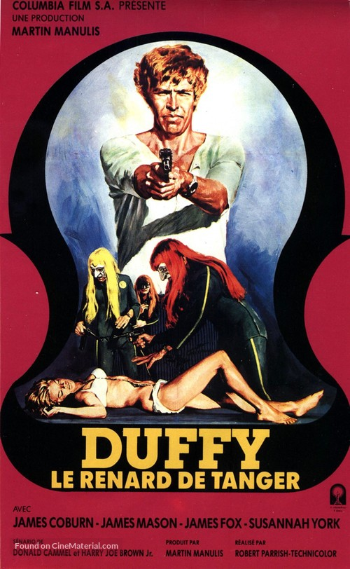 Duffy - French Movie Poster