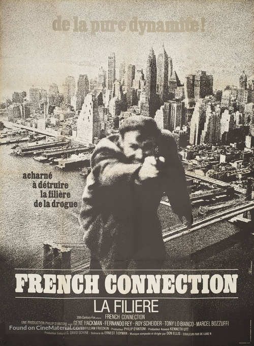 The French Connection - Canadian Movie Poster