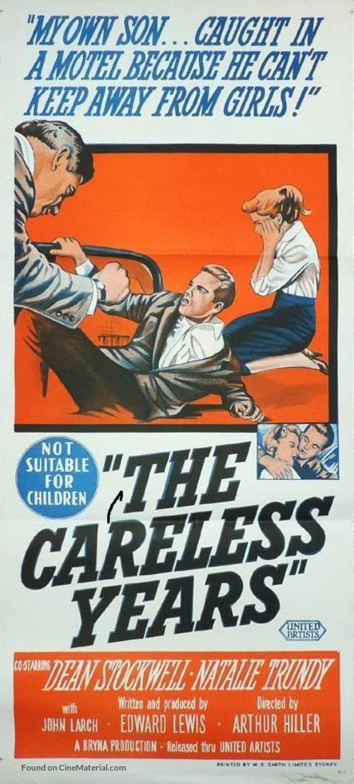 The Careless Years - Australian Movie Poster