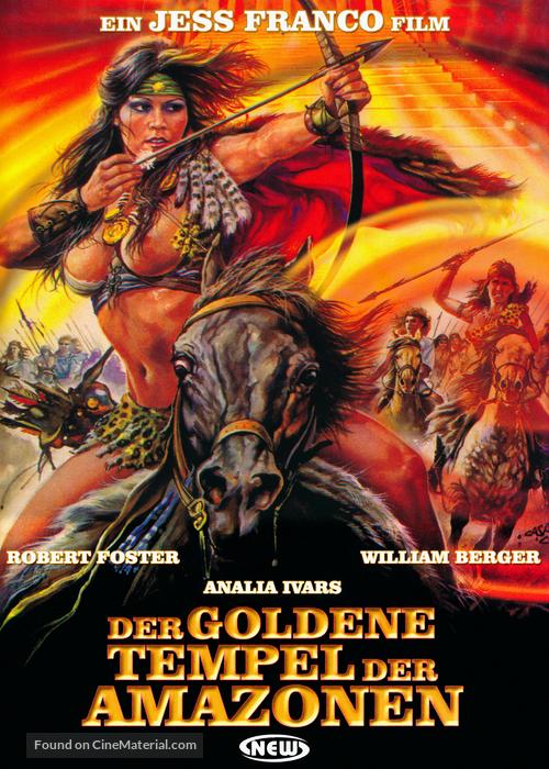 Les amazones du temple d'or - German Movie Cover
