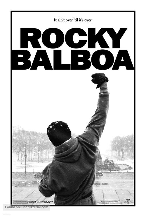 Rocky Balboa - Movie Poster