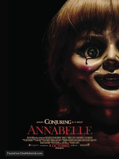 Annabelle - French Movie Poster